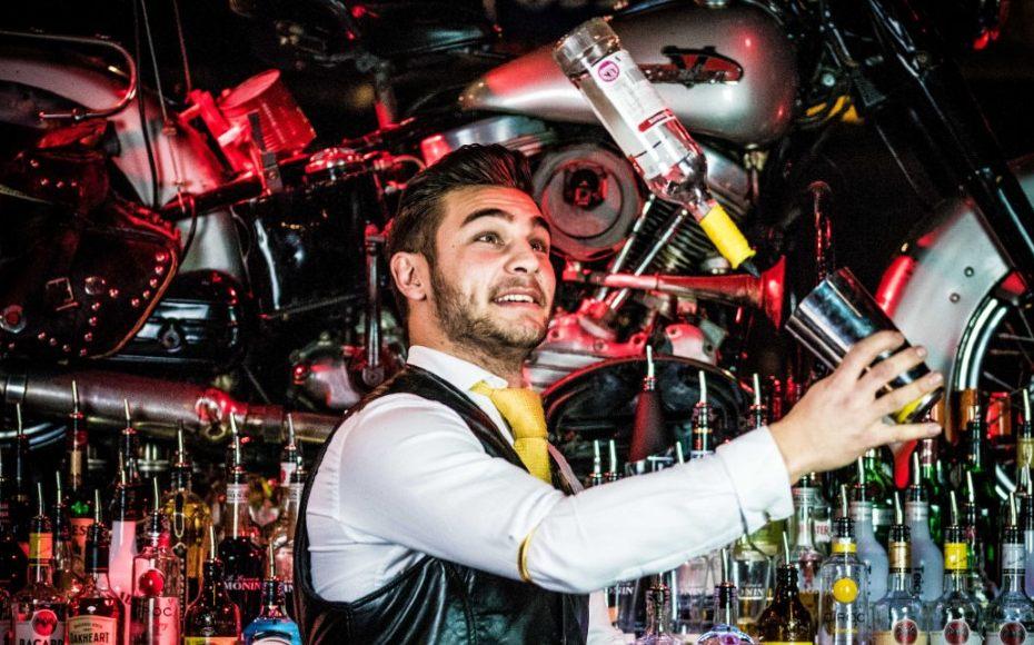 hire a flair bartender at home